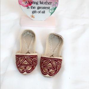 Indian Pakistani Traditional Khussa Shoes Unisex